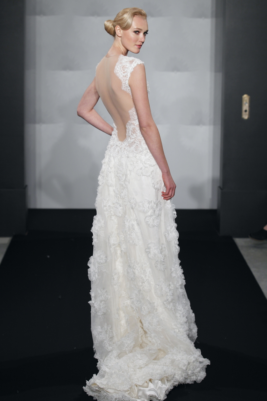 MARK ZUNINO SS13 BRIDAL FASHION WEEK 10/17/2012
